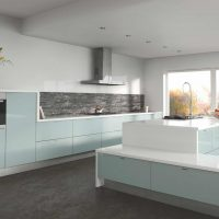 ZURFIZ_Metallic Blue Kitchen