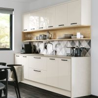 Cosdon - Gloss Porcelain & Halifax Oak
