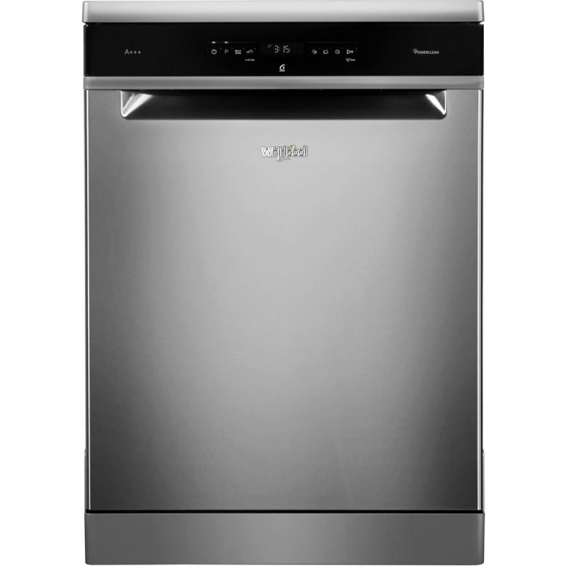 Whirlpool SupremeClean WFO 3P33 DL X Dishwasher in Stainless Steel