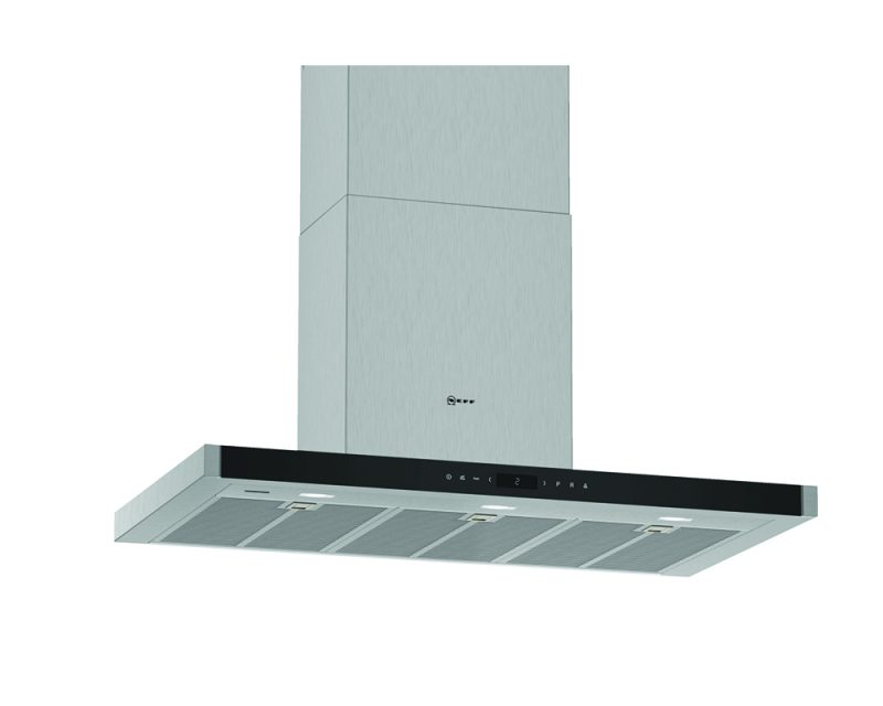 N 90 Wall-mounted cooker hood 90 cm Stainless steel D96BMV5N5B