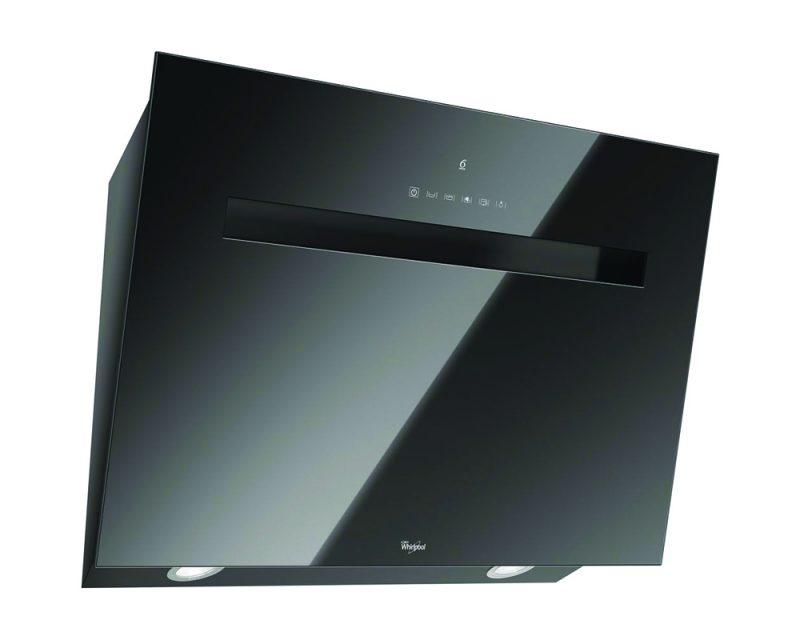 Whirlpool Absolute AKR 808 UK BK Built-In Cooker Hood in Black